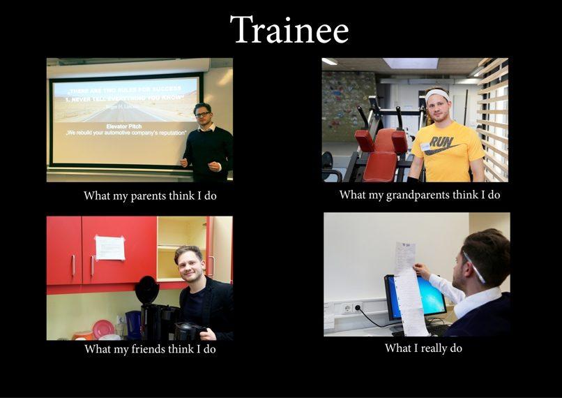Was macht eigentlich ein Trainee
